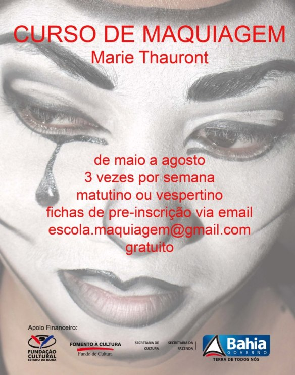 urso maquiagem Marie thauront